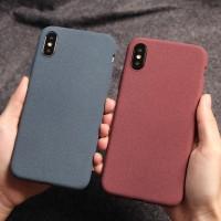 Slim Casing Samsung Galaxy S7 Edge S8 S9 S10 Plus Anti Fingerprint