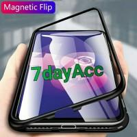Case Samsung A20 Bumper Metal Magnetic Case 360