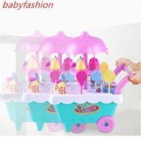 Mainan Simulasi Gerobak Es Krim/Permen Untuk Anak Perempuan
