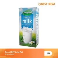 Susu Greenfields UHT Low Fat 1 Lt