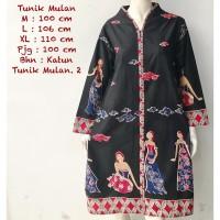 TUNIK MULAN | DRESS BATIK WANITA BUSUI NEW