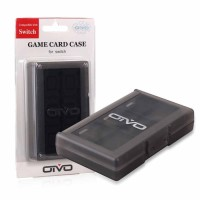 Switch Game Card Case 24 in 1 - OIVO (Black)