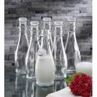 Borgonovo Indro 355 Glass Bottle Botol Gelas Made in Italy (6 pieces)