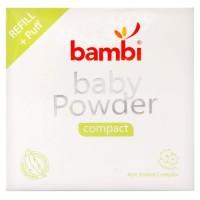 Refill Isi Ulang Bedak Padat Bayi Bambi Baby Powder Compact - GLA5