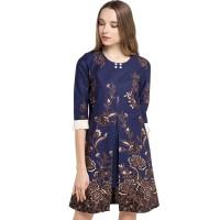 Rianty Dress Batik Wanita Katun Premium Samantha
