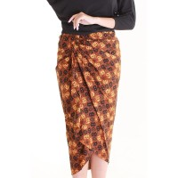 Rok Batik Wanita Lilit Rianty Audison| Rok Lilit Anti Mlorot