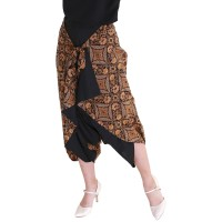 Celana Batik Wanita Rianty Katun Premium Vindy Celana Lilit Aladin