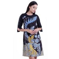 Rianty Dress Batik Wanita Katun Dobby Premium Valentina