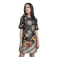 Rianty Dress Batik Wanita Katun Premium Sintia