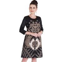 Rianty Dress Batik Wanita Katun Super Premium Aleza
