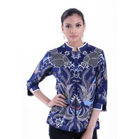 Blouse Batik Wanita Katun Premium Rianty Orlana