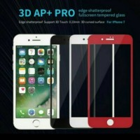 Nillkin 3D AP+ PRO Full Screen Tempered Glass iPhone 7 - Putih, tempered glass