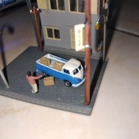 miniatur krat #2 skala N 1:150 . harga per pcs