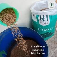Pakan Makanan kelinci marmut VITAL ROYAL HORSE S100 REPACK rabbit food