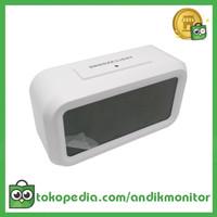 Taffware Fanju Jam LCD Digital Clock with Alarm - JP9901 - White