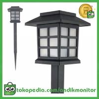 TaffLED Lampu Taman LED Creative Energi Solar - YF-922 - Black