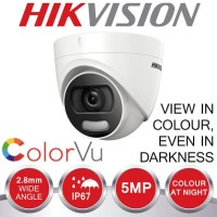 CCTV HIKVISION COLORVU 5MP INDOOR DS2CE72HFT-F ORIGINAL RESMI
