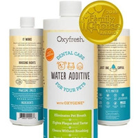 Oxyfresh Dental Care Water Additive 473ml - Penyegar Mulut Hewan