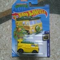 Hotwheels 2020 Teenage mutant ninja turtles party wagon