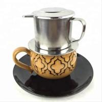Cangkir Kopi Stainless Vietnam Drip Regular Coffee Maker Ngopi Kuy