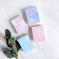 Dear Cherry Blossom Mini Plain Memopad / Buku Catatan / Polos