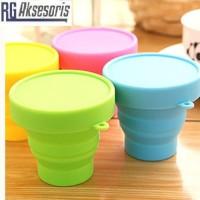 Gelas LIpat SILICON / Foldable Mug