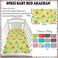 Sprei Bed Kasur Bayi karet seprai bed linen bungkus matras box baby