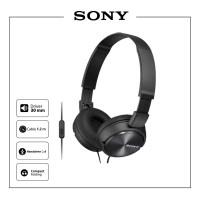 Sony Headphone with Mic MDR - ZX 310 AP/B - Black