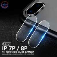 Tempered Glass Kamera Screen Protector iPhone 7 Plus 8 Plus Anti Gores