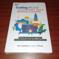 Coding Mudah dengan Codeigniter, JQuery, Bootstrap, dan Datatable
