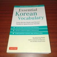 Essential Korean Vocabulary