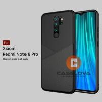 Case Xiaomi Redmi Note 8 PRO Casing Slim Business Leather Pattern