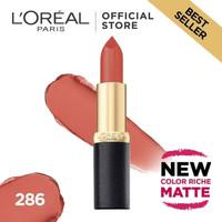 L'Oreal Lipstik Matte Color Riche Matte - Evening Sur