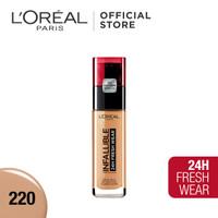 L'Oreal Foundation Infallible 24H Fresh Wear - Sand