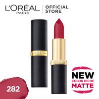 L'Oreal Lipstik Matte Color Riche Matte - La Vie En Coal