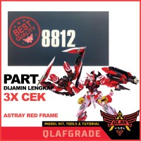 ASTRAY RED FRAME KAI DABAN 8812 METAL BUILD VERSION