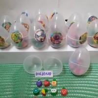 Penghapus Mini Lucu Packing Telur isi 10 pcs