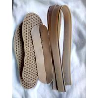 sol sepatu sol vans foxing bemper sneakers berkualitas gum strip hitam