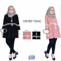 Tunik Cameo / Baju Atasan Wanita Murah/ Baju Tunik wanita