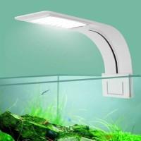 LAMPU LED SUPER SLIM AQUARIUM AQUASCAPE 10WATT MODEL JEPIT CLIP AKUA