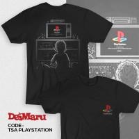 Kaos Distro Game Gamers Gamer PS 1 Anime Console - TSA Playstation