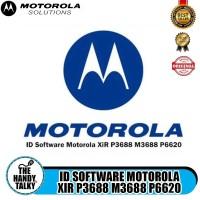 ID Software Motorola XiR P3688 M3688 P6620 Program Terbaru Mototrbo