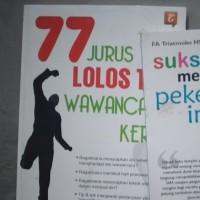 77 JURUS JITU LOLOS WAWANCARA KERJA/TANGGA PUSTAKA [ORIGINAL 100%]