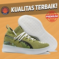Sepatu Basket Sneakers Puma Clyde Court Disrupt Veterans Day Pria