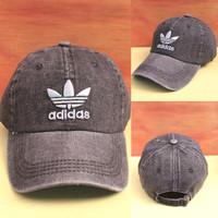 Grosir Topi Baseball / Snapback Premium High Quality Bermerek Adidas - Hitam