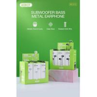 Headset / Handsfree / Earphone ROBOT RE101s Subwoofer Bass Metal Wired