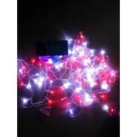 Lampu Hias LED Tumblr Merah Putih Lampu Hias Natal