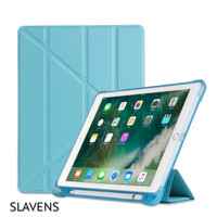 New iPad 5 6 / Air 1 2 Softcase with Pencil Holder Smart V Transformer