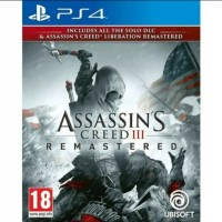 PS4 Assassin's Creed 3 Remastered / Assassin's Creed III Remaster