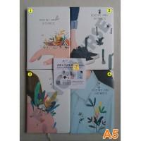 Notebook Hardcover A5 176-25-1 / Agenda Diary Notes Buku Catatan